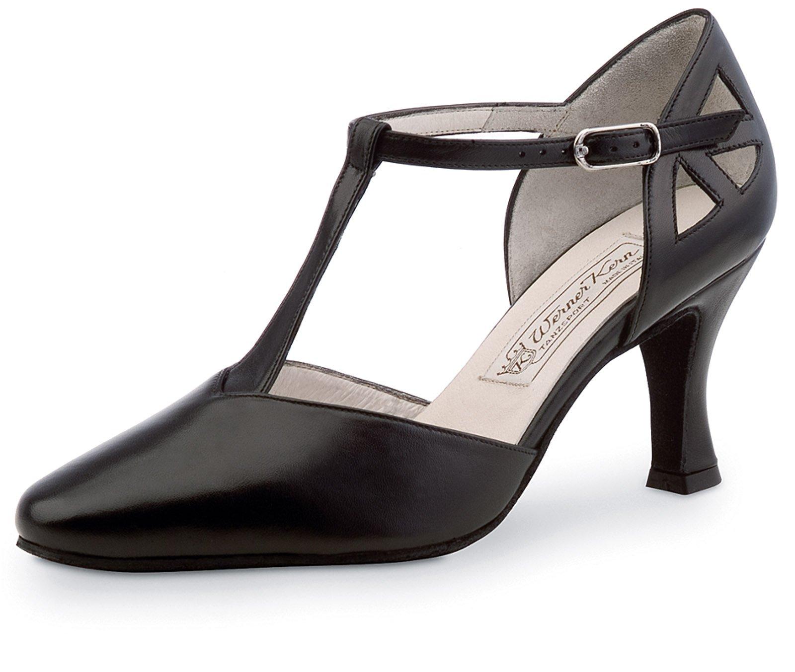 Werner Kern Women's Andrea - 2 3/4'' (6.5 cm) Flare Heel Shoe, 8 M US (5 UK)