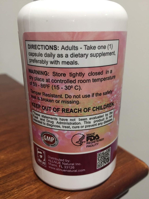 Amazon.com: Femina (phytoestrogen Formula) Support Menopause symptons Dietary supplemente 60 Capsules para Los sintomas de la menopausia.