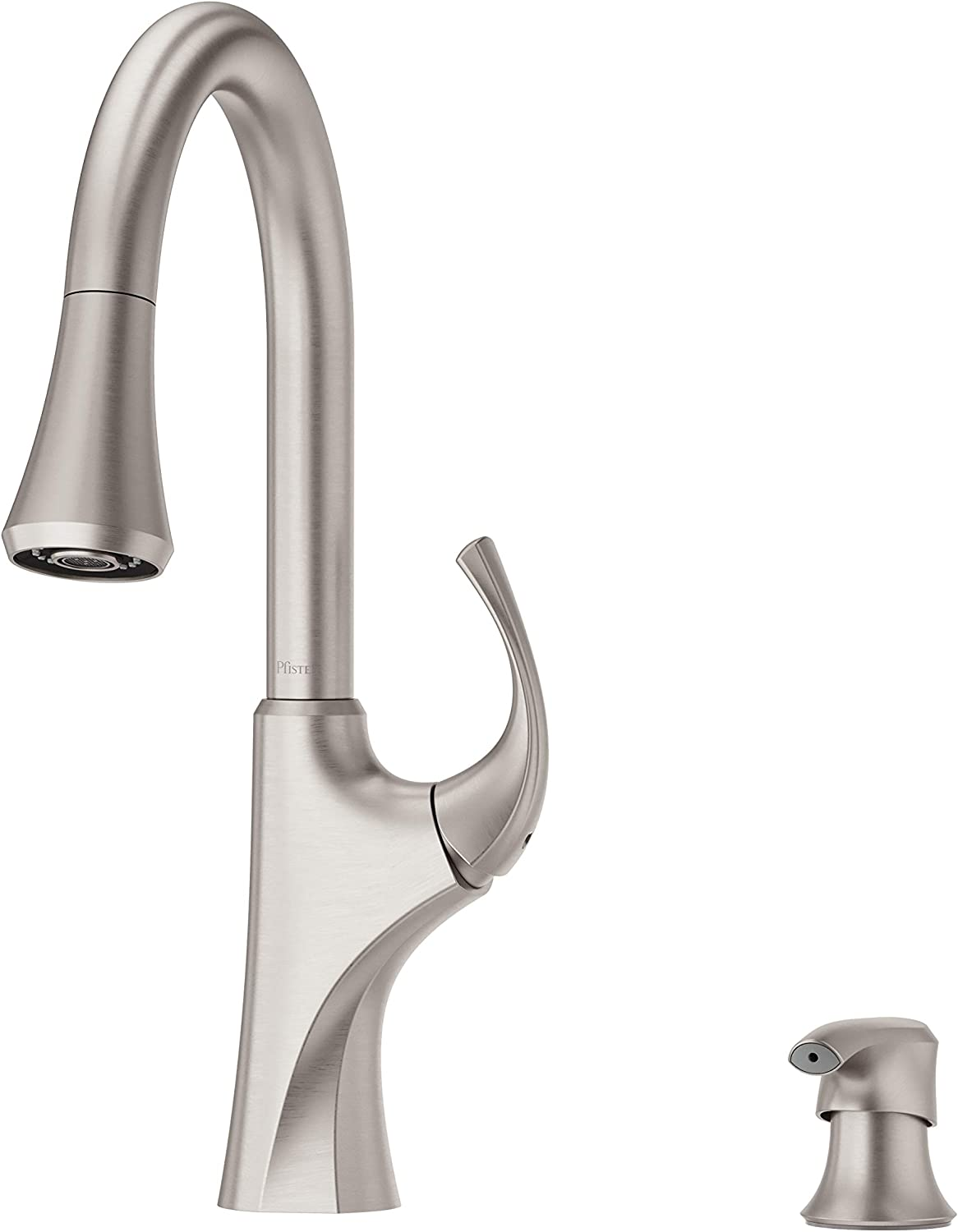 Pfister F 529 7mrgs Miri 1 Handle Easy Install Pull Down Kitchen Faucet With Soap Dispenser Spot Defense Stainless Steel Amazon Com