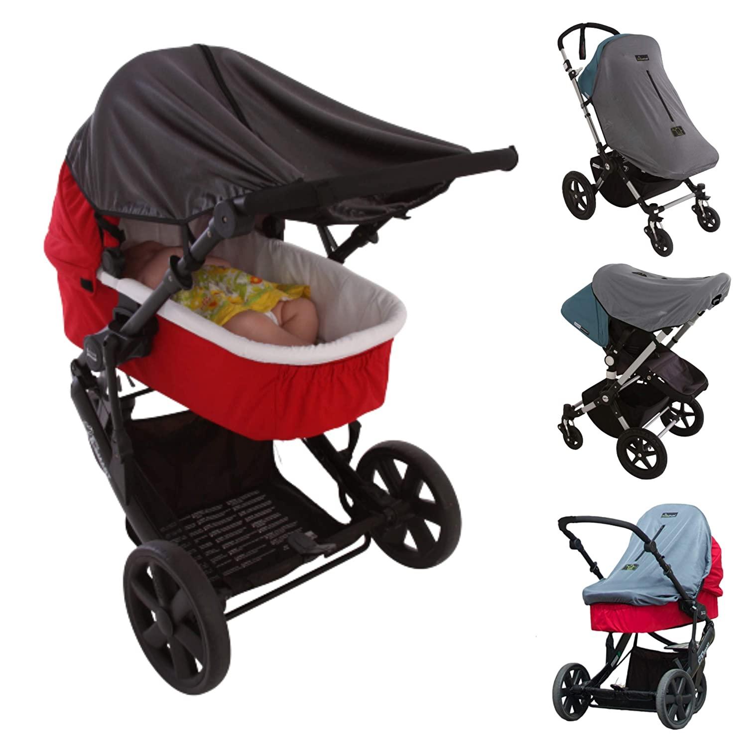 NEW One Size Fits All Sleep Shade for Infant Car Seats Snooze Shade