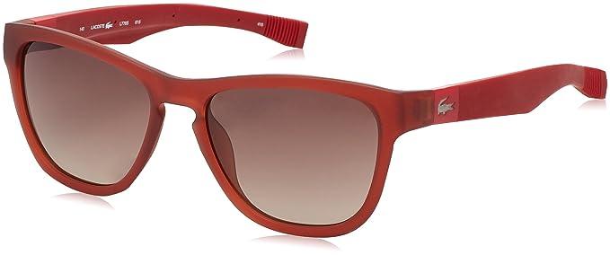 Lacoste Gafas de Sol L776S (54 mm) Rojo: Amazon.es: Ropa y ...