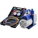 VEVOR Vacuum Pump Kit HVAC Single Stage AC Vacuum