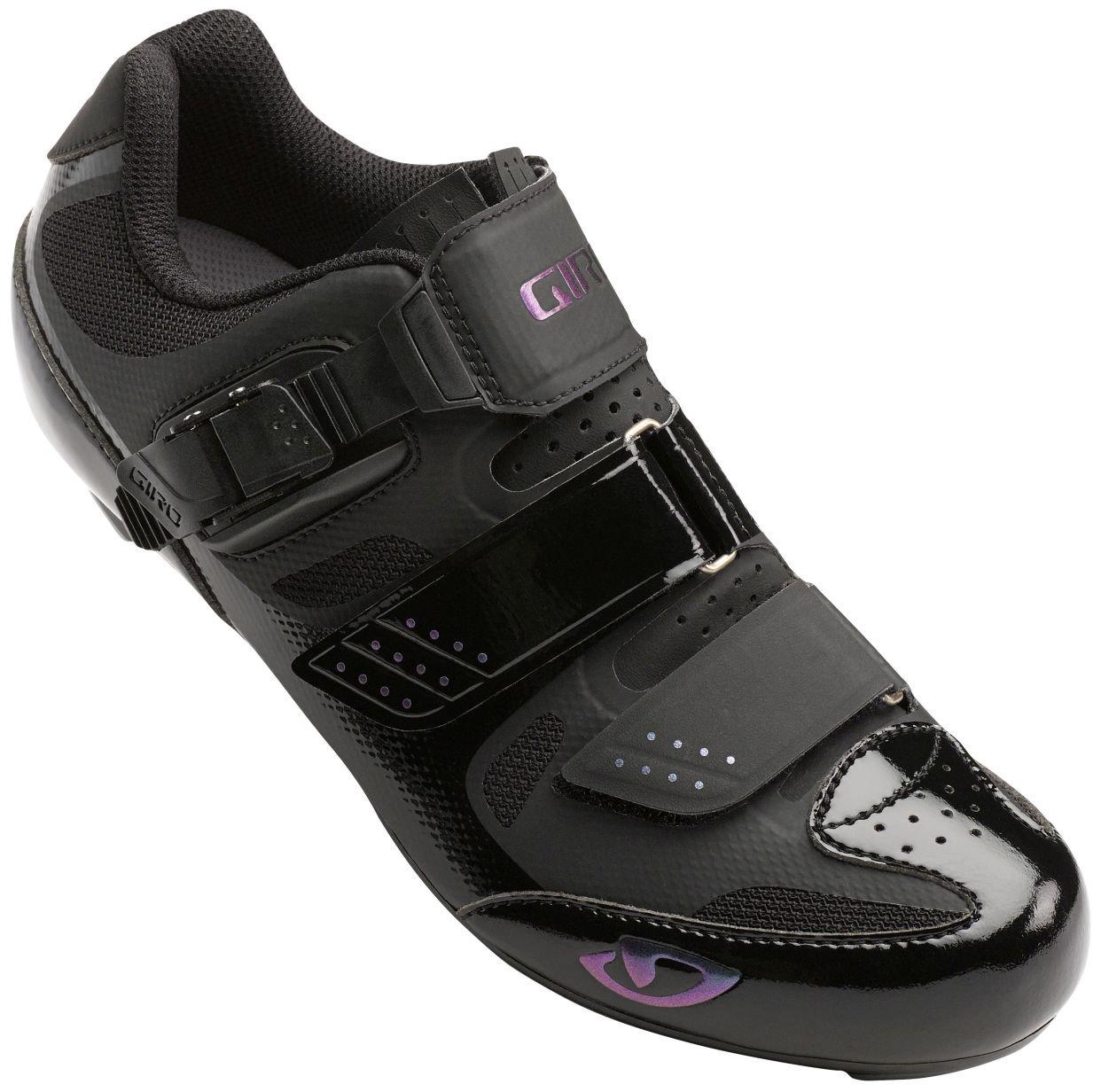 Giro Solara II Womens Road Cycling Shoes Black 36