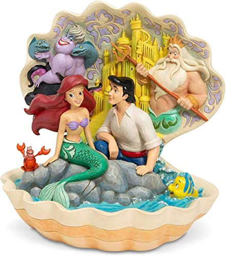 Enesco Disney Traditions by Jim Shore Little Mermaid Shell Scene Figurine
