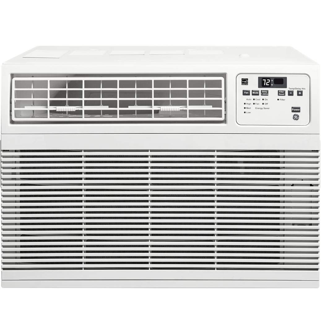 GE AHM10AY 21 Energy Star Qualified Window Air Conditioner with 10000 BTU Cooling Capacity in White