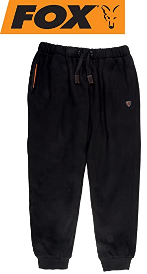 Small Angelsport Fox Black/Orange Joggers