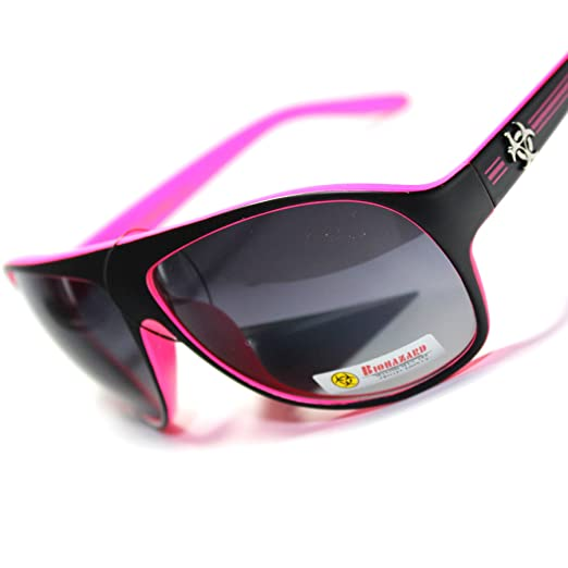 8d0b18019e8d Image Unavailable. Image not available for. Color   BH7-S6 BioHazard  Eyewear Retro Turbo Style Sport Men s Sunglasses