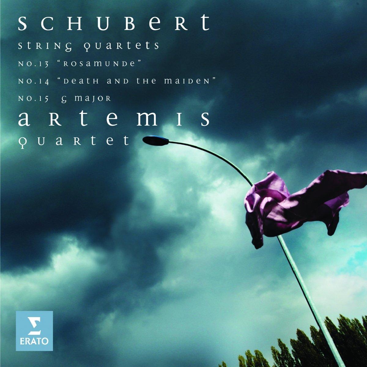 Artemis Quartet, Schubert - Schubert String Quartets: No.13 ...