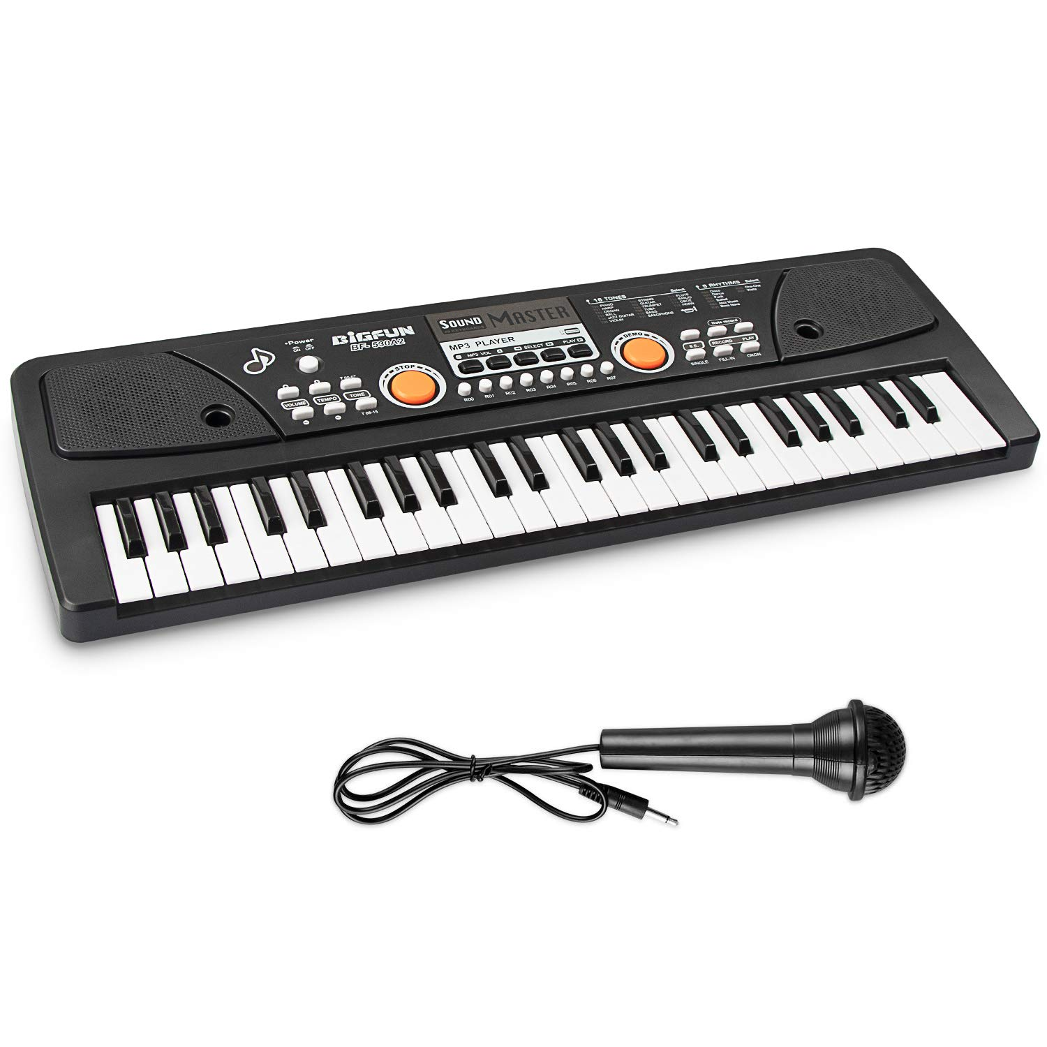 AIMEDYOU 49 Keys Piano Keyboard for Kids Multifunction Portable Piano Electronic Keyboard Music Instrument Birthday Xmas Day Gifts for Kids by AIMEDYOU (Image #2)