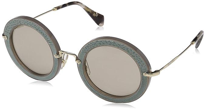 Miu Miu MU 08RS U6S5J2 Womens Sunglasses at Amazon Mens ...