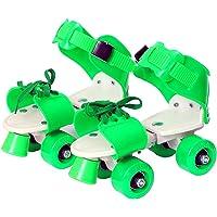 Kabacha Roller Skates for Kids Girls Boys Adjustable Size 16 CMT.to 21 CMT.