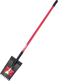 """product image for Bully Tools 14-Gauge Notched Head Shingle Shovel with Fiberglass Handle, 57"""""""