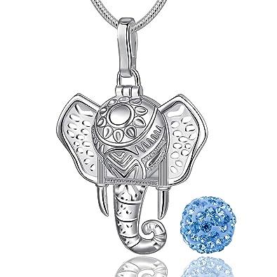 Eudora Elephant Colgantes Mujer, Lindo Elephant Collares ...