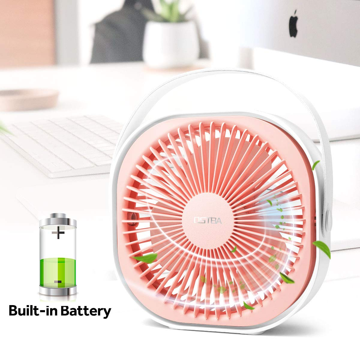 Ventiladores Abanicos Para Camiones Carros Portatil Recargable Bateria Carga USB