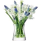 LSA FLOWER GARDEN POSY フラワーベース(花器) 高さ13cm クリアー  TLA2120
