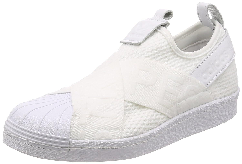 Adidas Superstar Slipon W, Zapatillas de Deporte Para Mujer 36 2/3 EU|Blanco (Ftwbla / Ftwbla / Negbas 000)