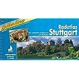 Radatlas Stuttgart - Die schönsten Radtouren rund um Stuttgart: Die schönsten Radtouren rund um Stuttgart, 1 : 75 000, wetterfest/reißfest, GPS-Tracks Download
