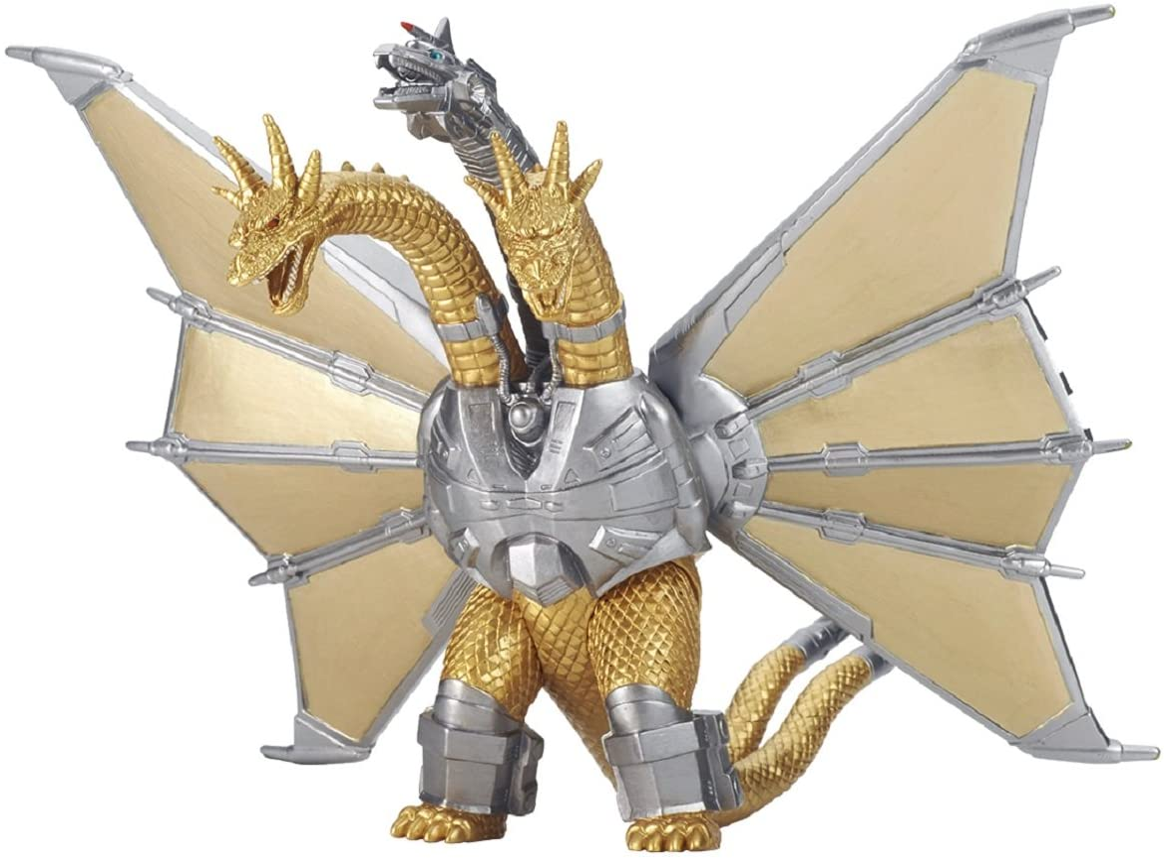 Godzilla Movie Monster Series Mecha King Ghidorah Height 17cm Amazon De Spielzeug
