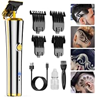 Pro T Outliner Hair Clippers Trimmer, Oudekay Electric Cordless Pro Li Outliner Trimmer Rechargeable T Blade Trimmer…