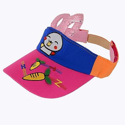 cd5f389044754 Kids Designer Trendy Latest Stylish Cartoon Summer hat Cap for boy Girl Best  for Beaches Sunlight Sports Cap (6-10 Years)  Amazon.in  Baby