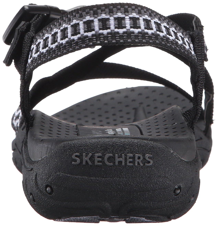 7a0948a35d36 Amazon.com  Skechers Women s Reggae-Kooky Flat Sandal  Skechers  Shoes
