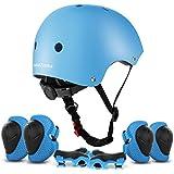 ValueTalks Protección Patinaje, Protección Infantil Consta de Casco Ajustable Rodilleras Coderas, Patinaje Ciclismo…