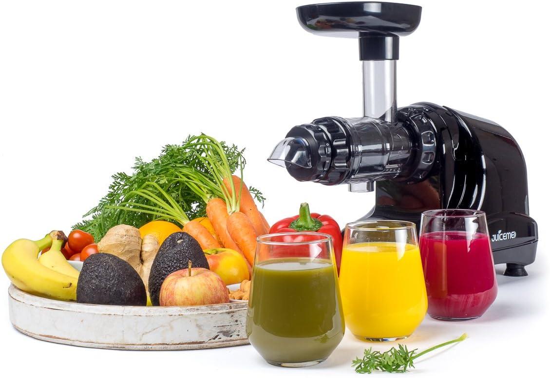 JuiceMe DA1000 Exprimidor lento – Exprimidor de masticación ...