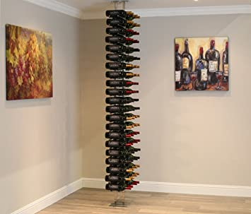 Amazoncom Ultra Wine Racks Floor To Ceiling Mount 2 Side 2 Post