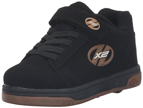 chaussures de sport 6ac42 b1fb9 Heelys X2 Dual Up, Chaussures Deux Roues garçon