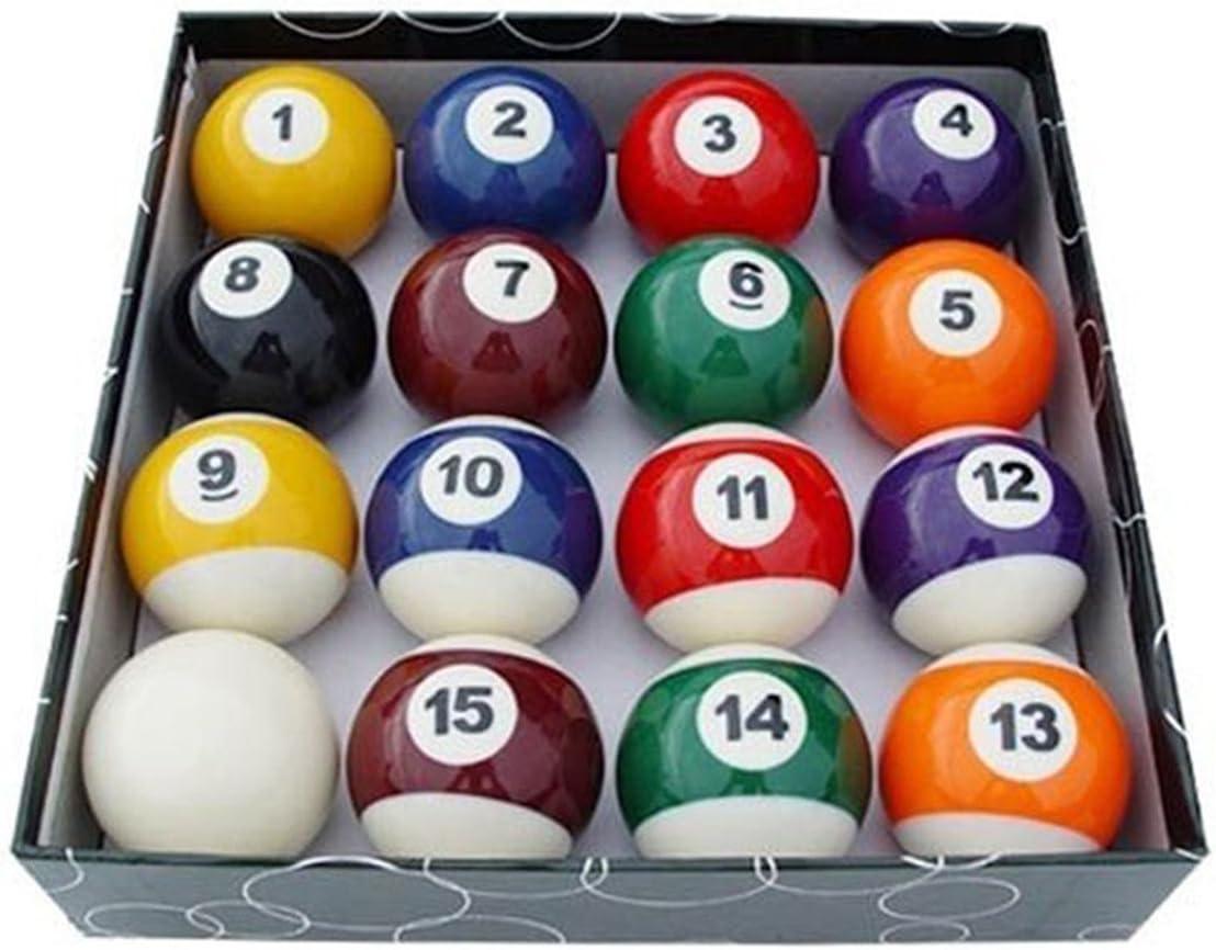 Juego Bolas Miniature Mini Pool Billiard Balls Diameter 24.89 mm ...