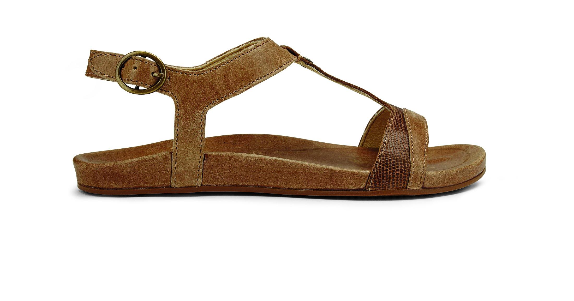 OluKai Hiona Sandal - Women's Tan 9