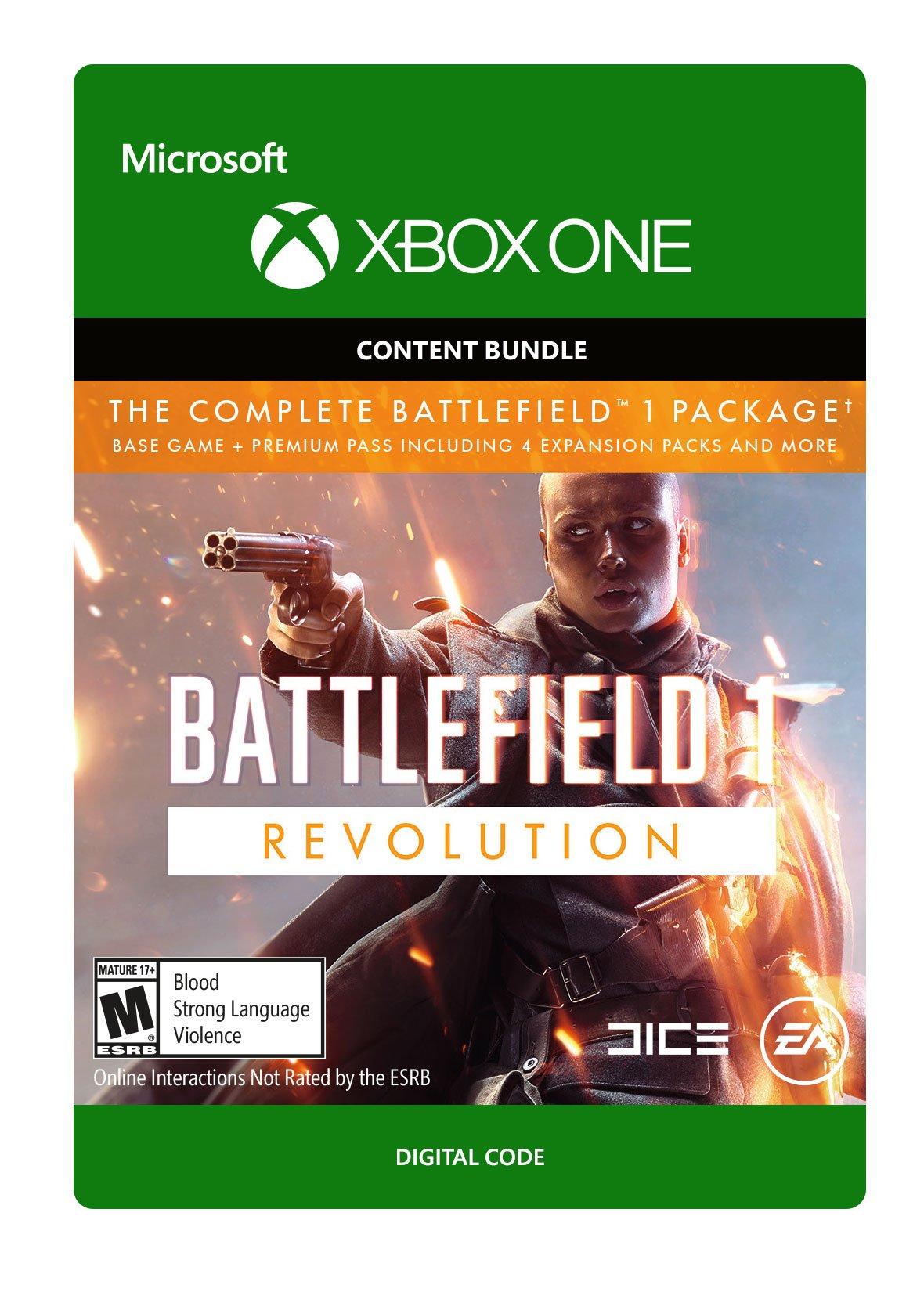 Battlefield 1: Revolution - Xbox One [Digital Code]