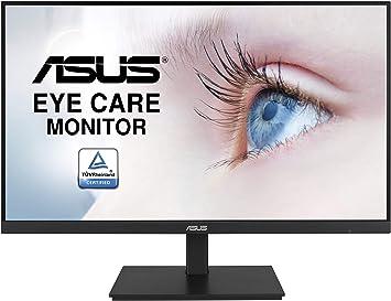 Asus Va27dqsb 68 58 Cm Eye Care Monitor Schwarz Computer Zubehör