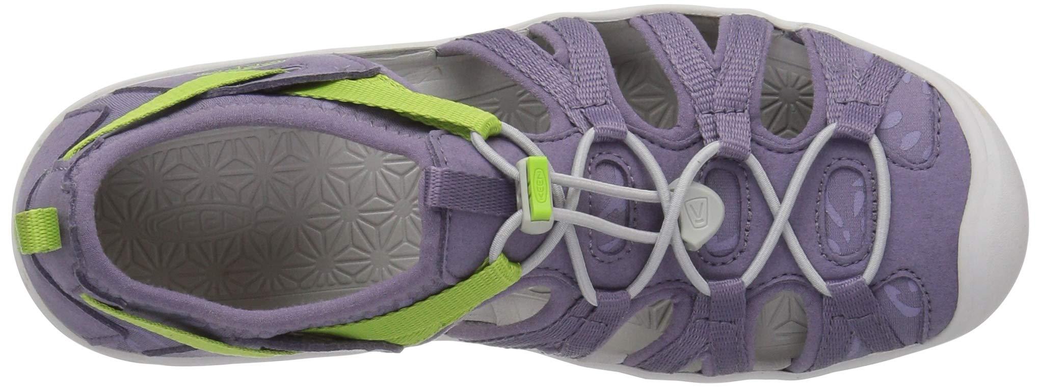 KEEN Unisex Moxie Sandal, Purple SAGE/Greenery, 6 M US Big Kid by KEEN (Image #8)