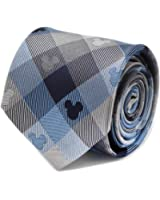 Cufflinks Inc. Mens Mickey Mouse Plaid Tie
