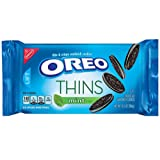 Oreo Thins Sandwich Cookies, Mint, 10.1 Ounce