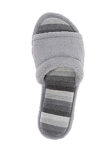 848b7ae2ecb Amazon.com   Dearfoams Sleet Slides Women's Memory Foam Slippers ...
