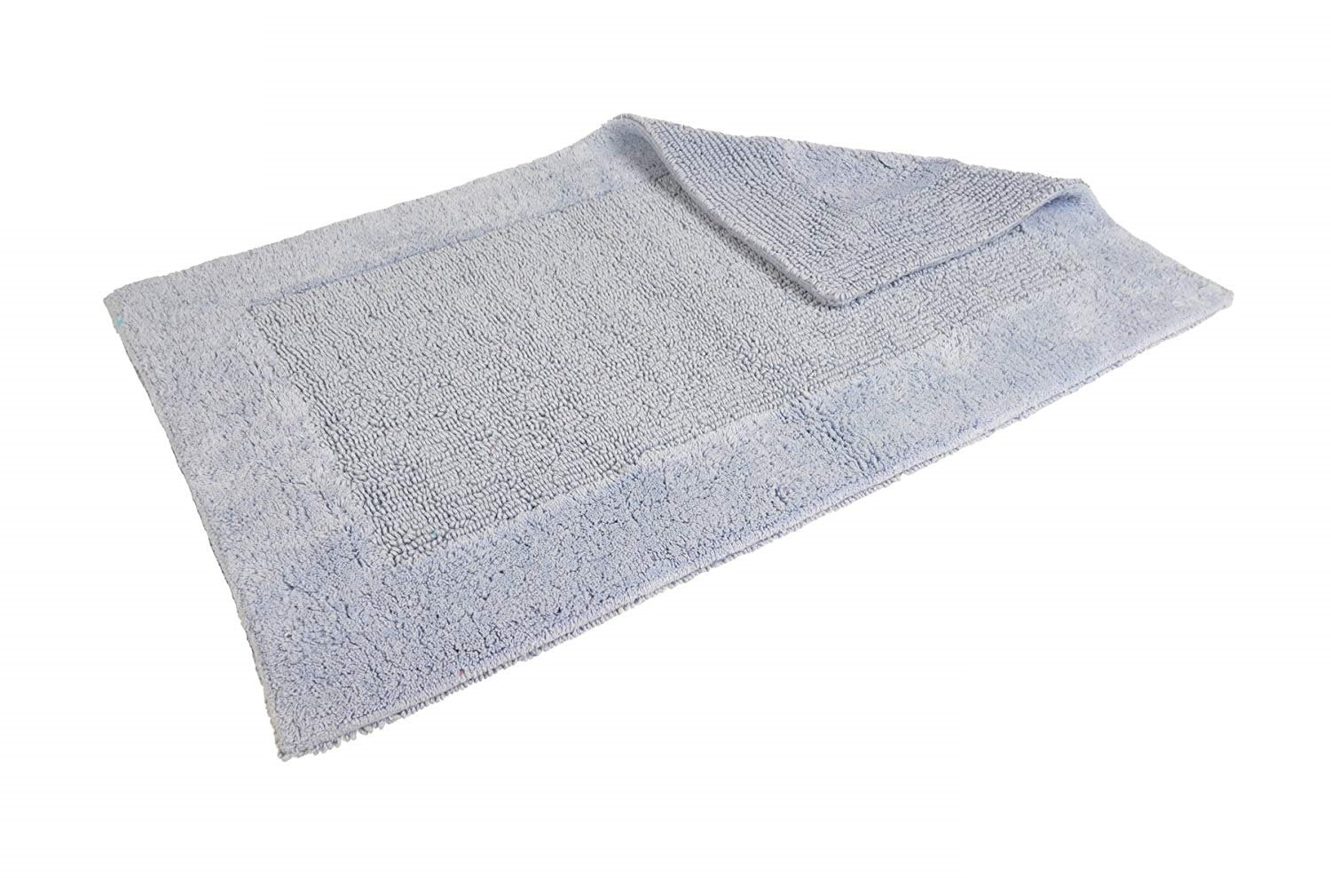 Allure Bath Fashions Luxury Supersoft Egyptian Cotton Towels 2 x Absorbent and Quick Dry Bath Towels Set 70 x 120cm 500gsm (Blue, 2x Bath Towels)