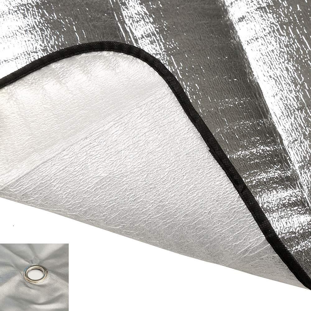Goldenlight Couverture Pare-Brise Voiture Hiver B/âche Pare Brise Protection Universelle pour Voiture Anti Givre 192 x 70 cm Soleil Anti UV Glace Neige