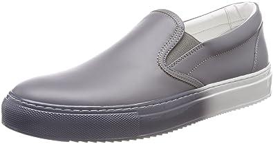 HUGO Damen Greenwich Slip on Sneaker, Grau (Medium Grey 036), 42 EU
