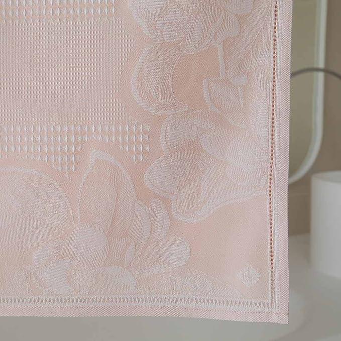 Le Jacquard Francais Toalla Invitados Volupté, algodón Peinado, Rosa muñeca, 50 x 30 x 0,1 cm: Amazon.es: Hogar