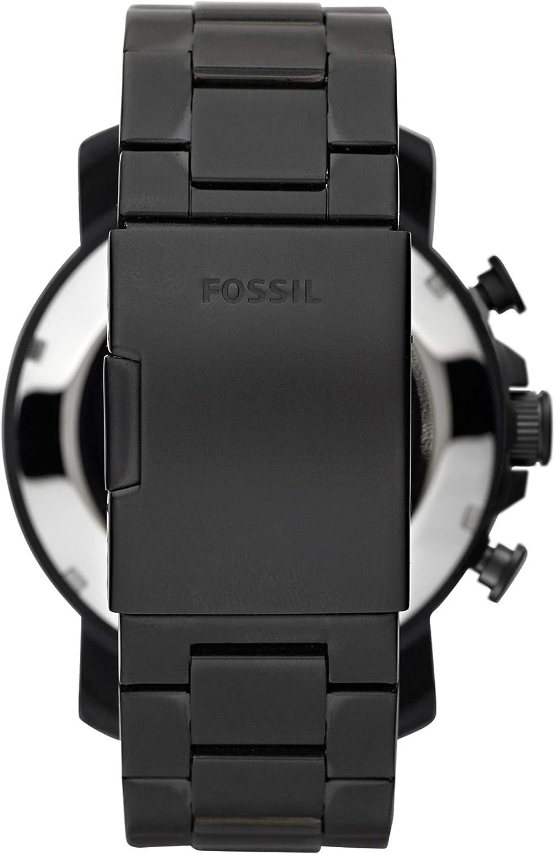 Fossil Homme Chronographe Quartz Montre 2t Brun/Noir