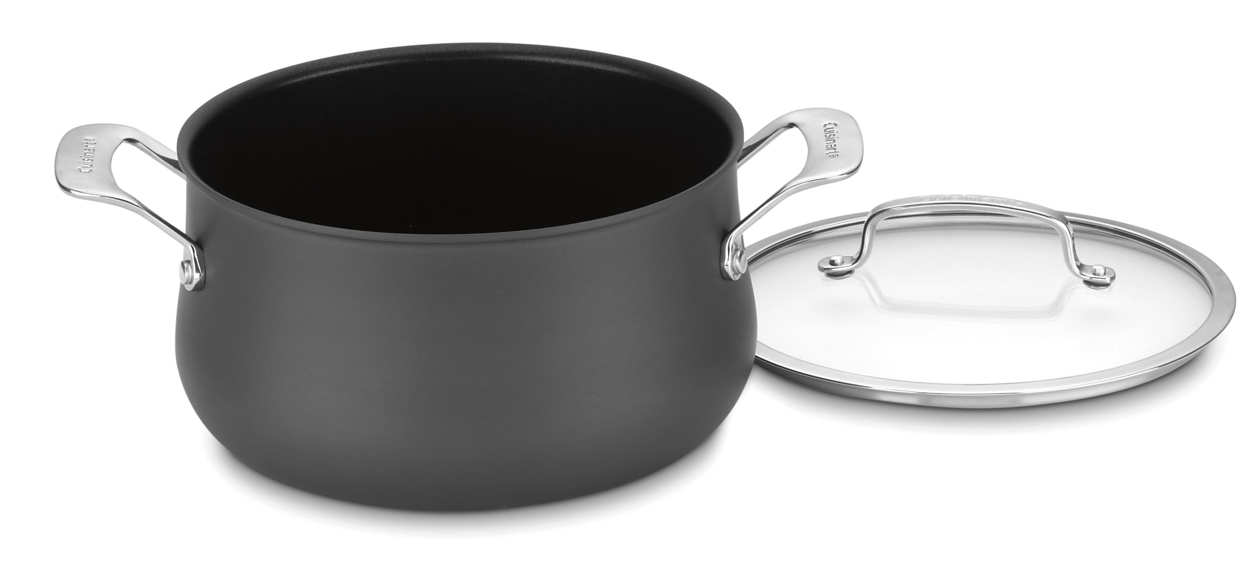 Cuisinart 6445-22 Contour Hard Anodized 5-Quart Dutch Oven with Cover by Cuisinart
