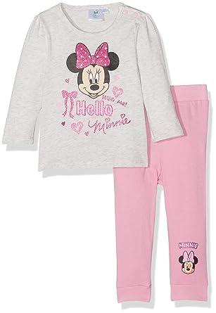Disney Baby-M/ädchen Zweiteiliger Schlafanzug