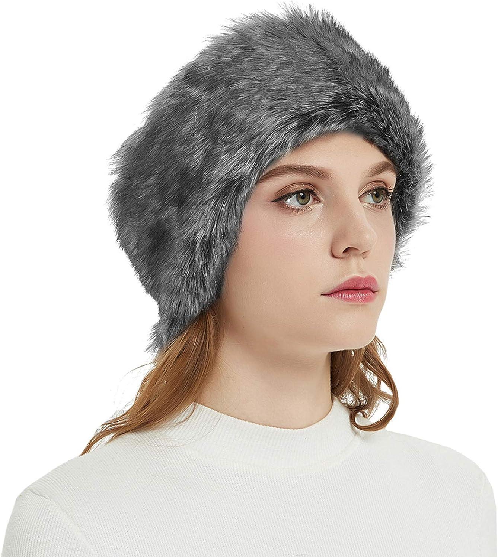 Faux Fur Headbands Outdoor...