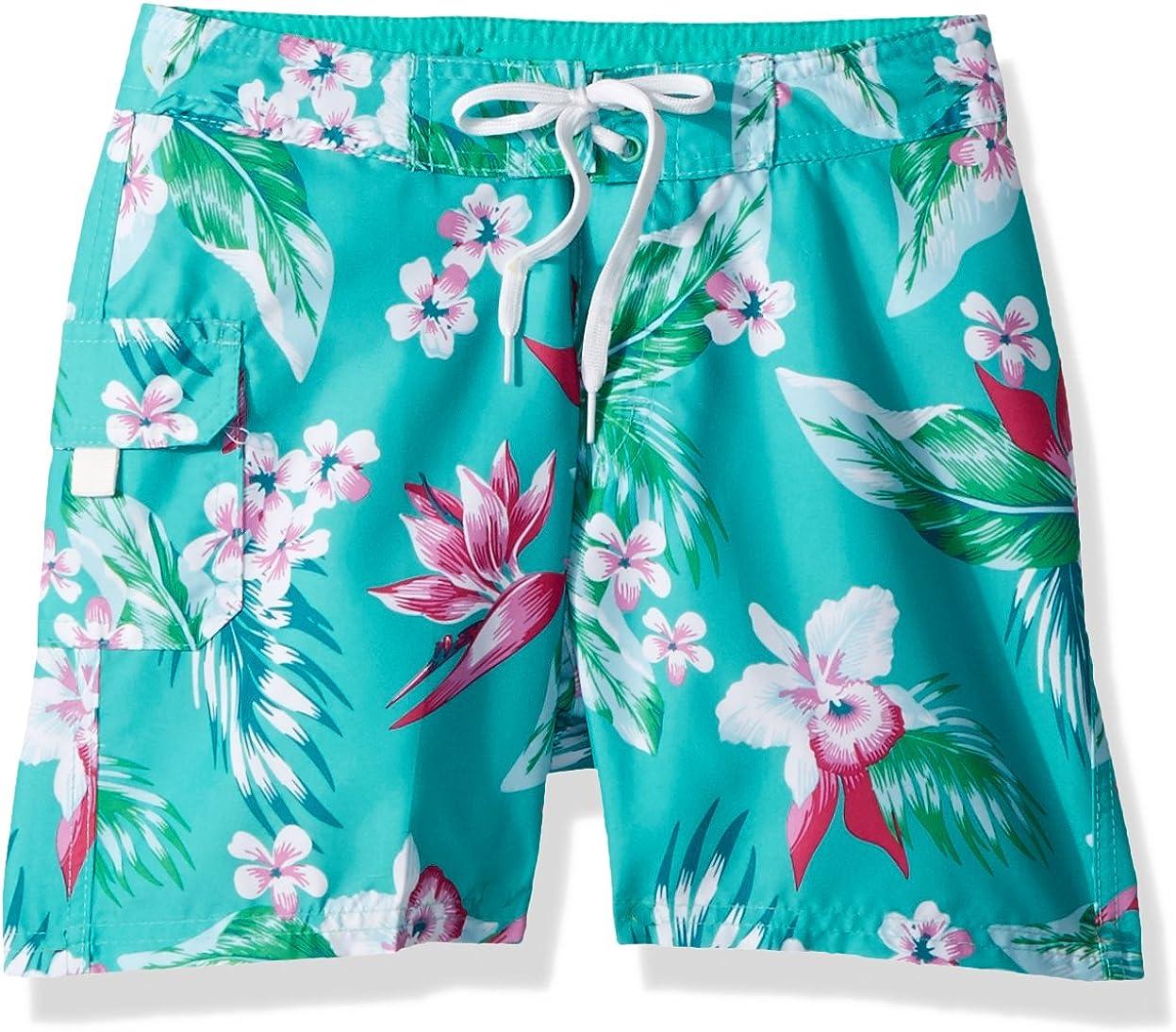 Kanu Surf Girls Sassy UPF 50 Quick Dry Beach Coverup Boardshort Board Shorts