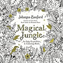 magical jungle an inky expedition and coloring book for adults - Johanna Basford Coloring Book