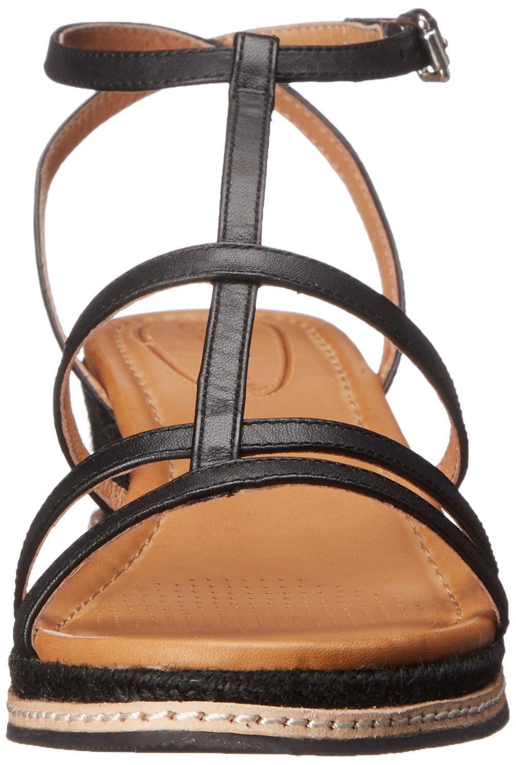 Corso Como Women's Codi Platform Espadrille Sandal B019RGQDN0 9.5 B(M) US|Black Brushed Leather