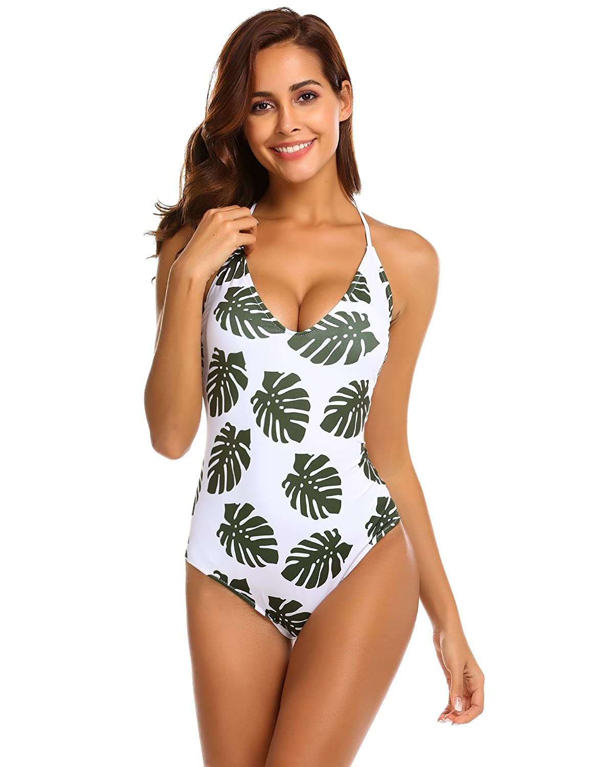 9cdc987219 Imported sexy monokini. With soft and removable padding. Adjustable cross  lace-up low back. Medium triangle top and medium bottom coverage