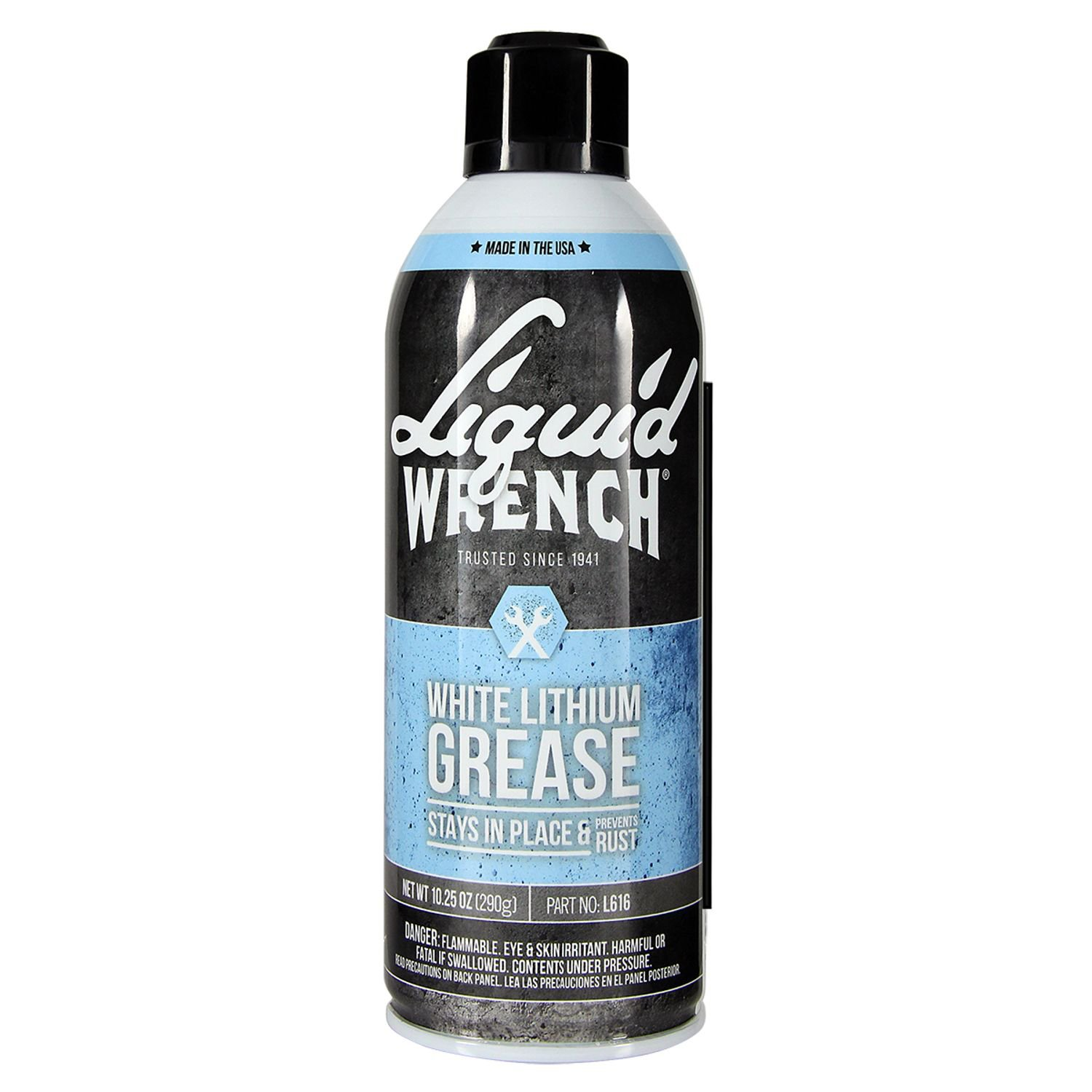 Liquid Wrench L616-12PK White Lithium Grease - 10.25 oz, (Case of 12) by Liquid Wrench